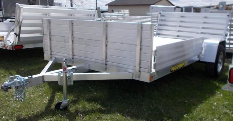 2021 Aluma 8112 BT ATV / Utility Trailer