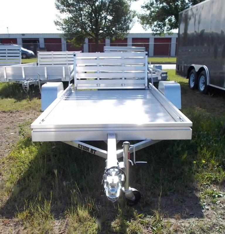 2020 Aluma 6310H BT Utility Trailer with Bi-Fold Gate