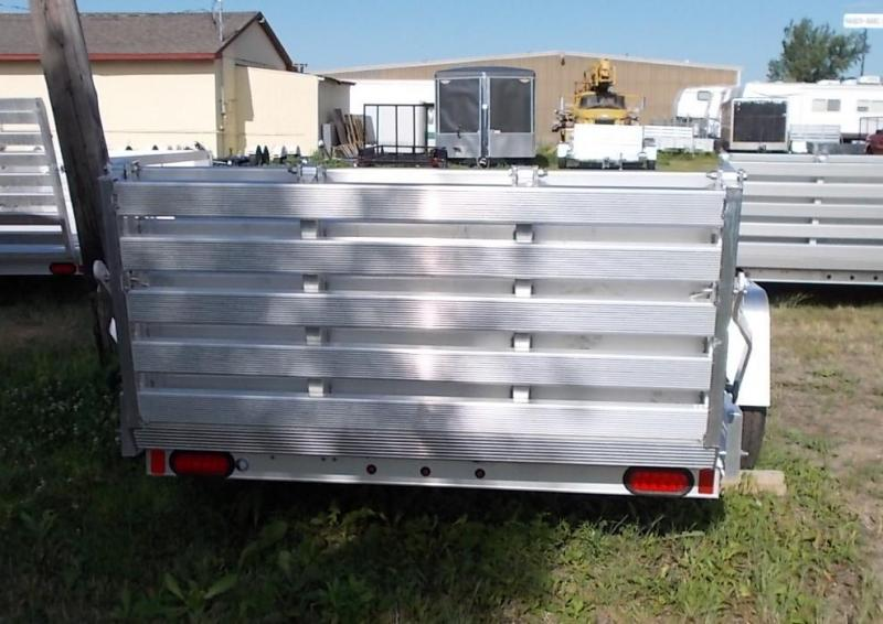 2020 Aluma 6310H BT Utility Trailer with Bi-Fold Gate