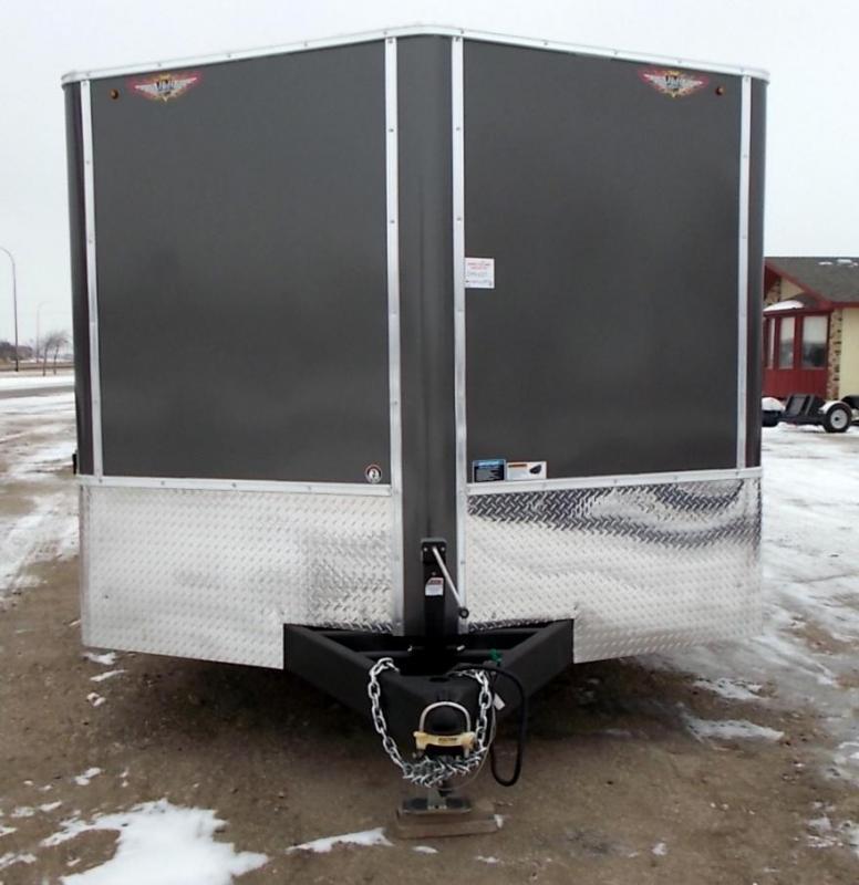 2021 H&H CAFT 101 x 24 Enclosed 10K Enclosed Cargo Trailer