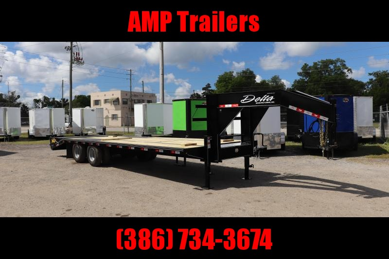 "2020 30'x102"" 10 ton Gooseneck Equipment Trailer"