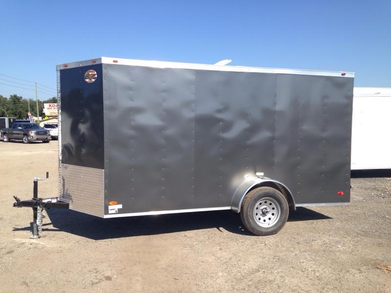 2020 ADMIRAL SERIES 6X12 SINGLE AXLE CARGO  *CHARCOAL