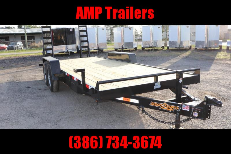 2021 Down 2 Earth Trailers 82x20 EQ Equipment Trailer