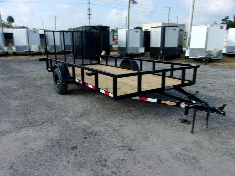 "2020 Down to Earth 76""x14' Single Axle Utility Trailer"
