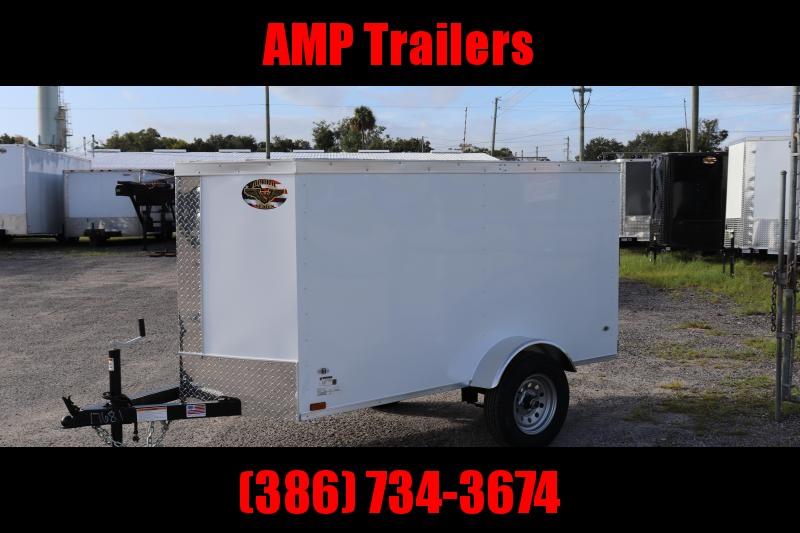 2020 4x8 ADMIRAL SERIES Cargo Trailer