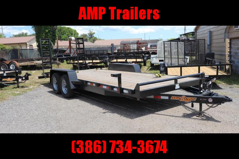 2021 Down 2 Earth Trailers D2E 82x18 3.5 EQUIPMENT