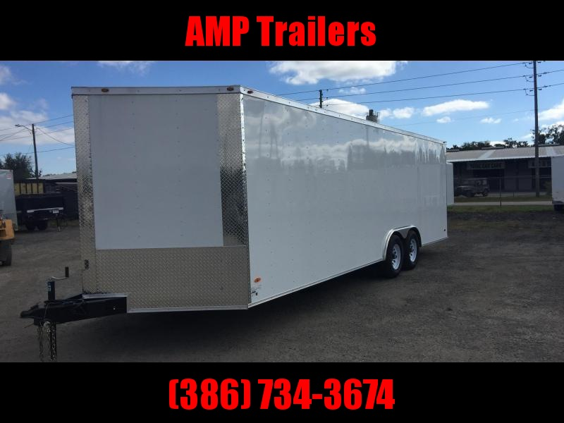 2020  8.5'x20' ADMIRAL SERIES CARGO TRAILER *SILVER FROST