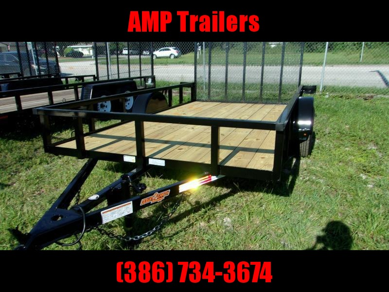 """2022 Down to Earth 76""""x10' Utility Trailer"""