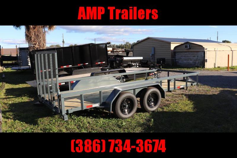 2021 GPS Trailers 76x16 Utility Trailer