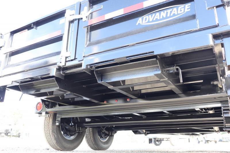 2021 Cam Superline-ADVANTAGE 7X14 7 TON DUMP TRAILER - 2' SDS
