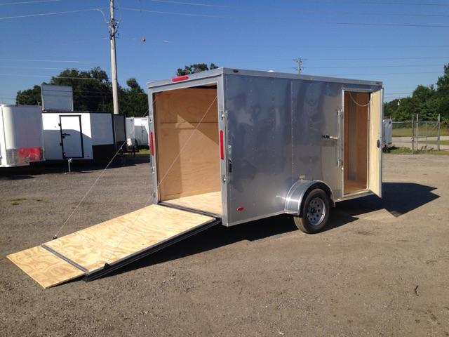2020 ADMIRAL SERIES 6X12 SINGLE AXLE CARGO *SILVER FROST
