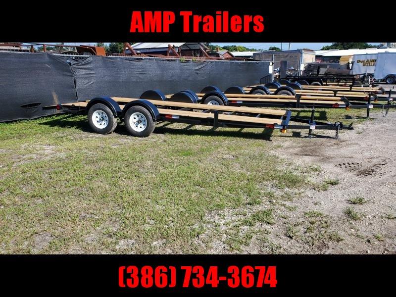 2021 WorldWide Trailer Manufacturing 7x18 A.T.V/U.T.V HAULER ATV Trailer