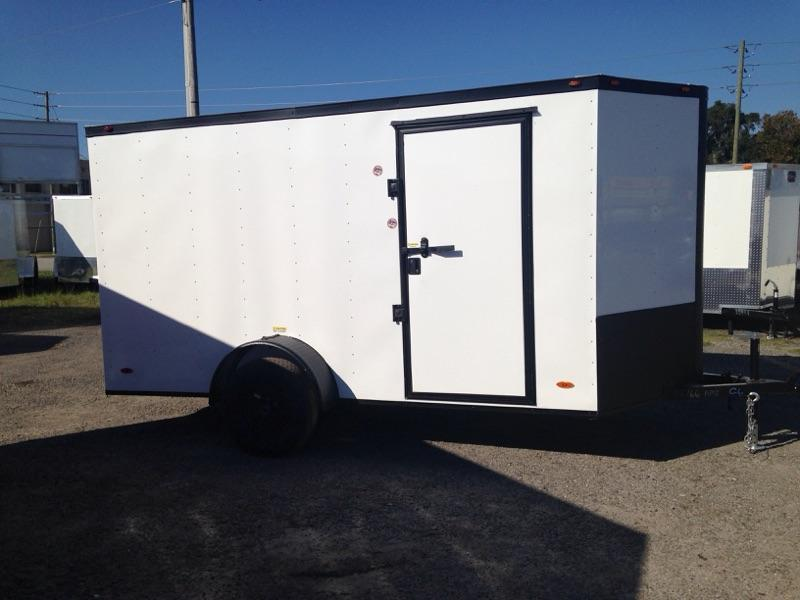 2019 6x12 ADMIRAL SERIES  Single Axle Cargo Trailer