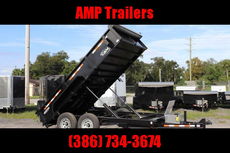 2021 Cam Superline-ADVANTAGE 7X14 7 TON DUMP TRAILER - 2' SDS