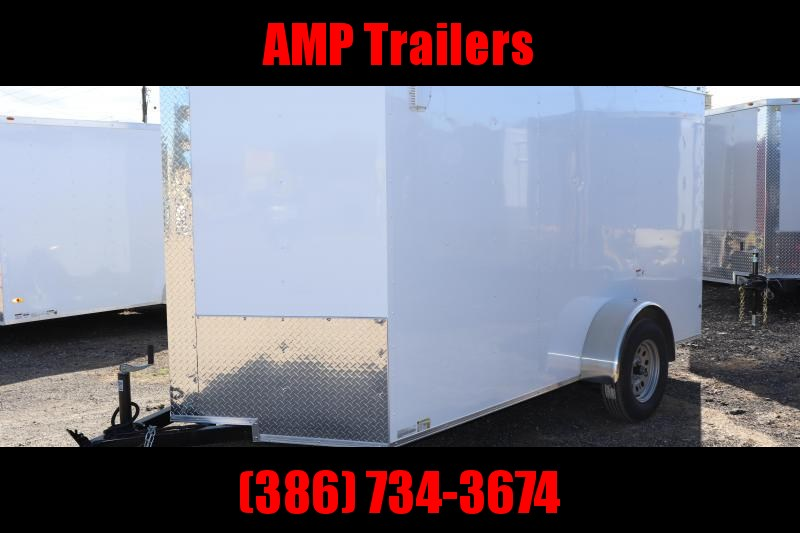 2020 6x12 GENERAL SERIES Cargo Trailer *DOUBLE DOORS