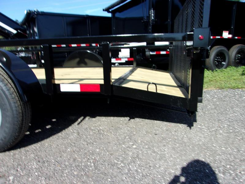 "2020 Down to Earth 76""x12' Utility Trailer *DOVETIL"