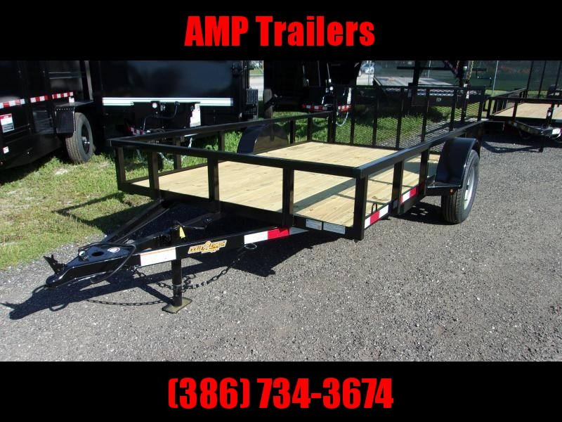 "2021 Down to Earth 76""x12' Utility Trailer *DOVETIL"