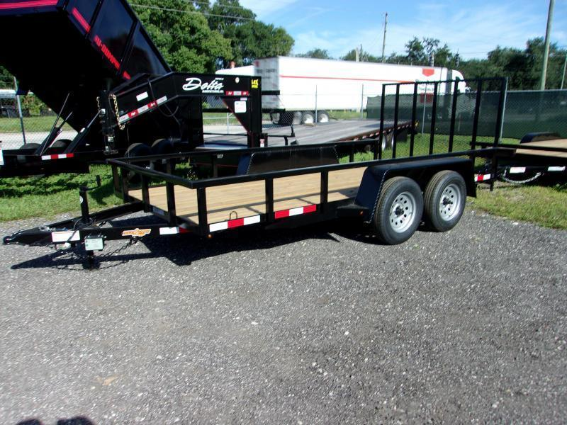 "2021 Down 2 Earth Trailers 76""x16' Utility Trailer"