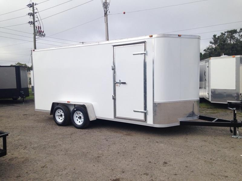 2021 AMP Trailers 7X16 CARGO Enclosed Cargo Trailer