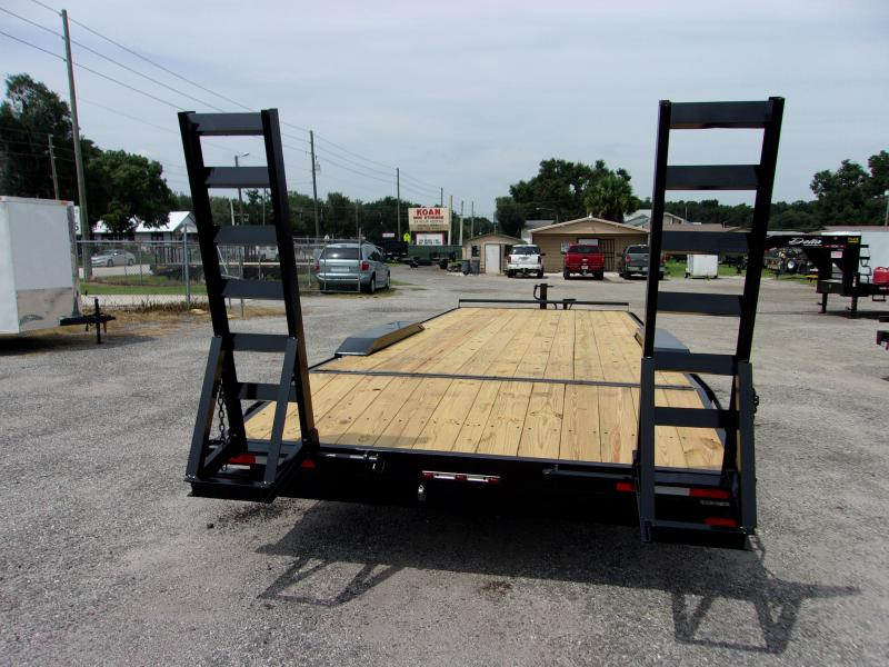"2020 D2E 24'x102"" DRIVE OVER Equipment Trailer"