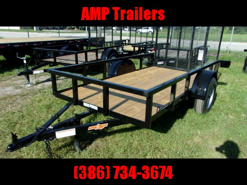 2021 Down to Earth 5x10 Utility Trailer