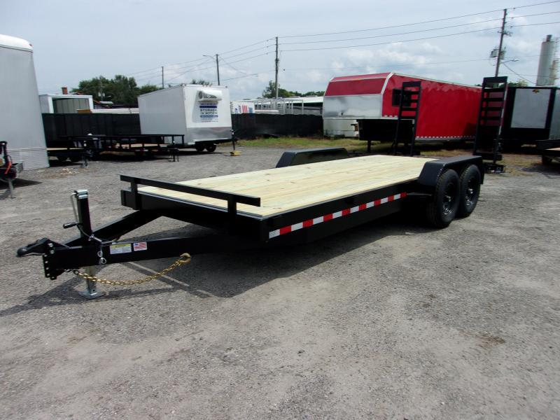 "2021 AMP 82""X20' 7 ton Equipment Trailer"
