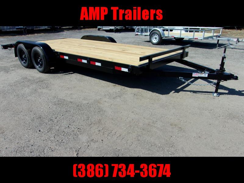 2021 AMP Trailers 82X18 CAR HAULER Car / Racing Trailer