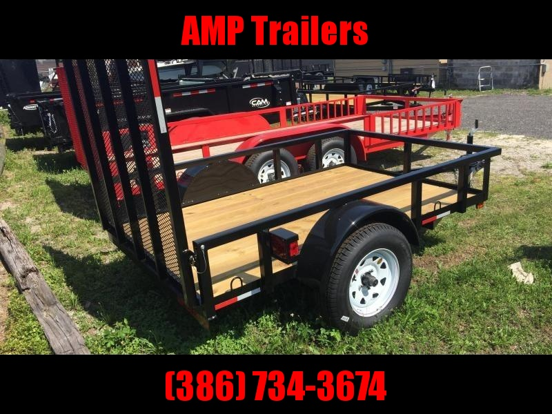 2020 AMP Trailers 5x10 Single Axle Utility Trailer