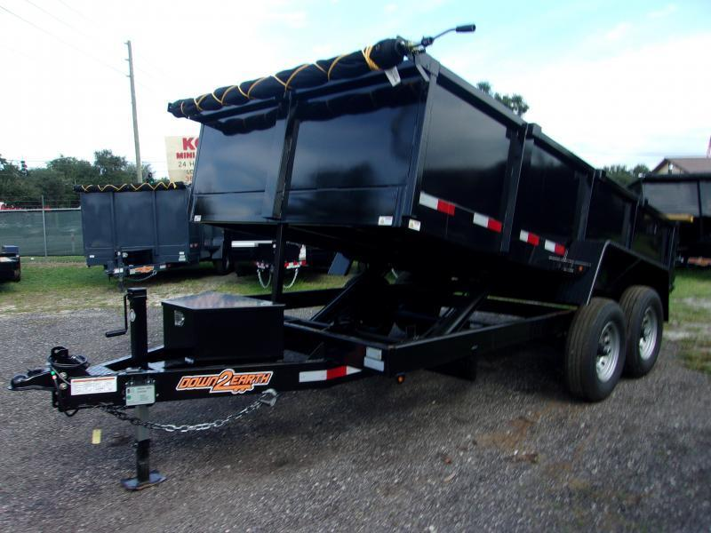 2020 Down 2 Earth Trailers D2E 7X14 7TON DUMP TRAILER