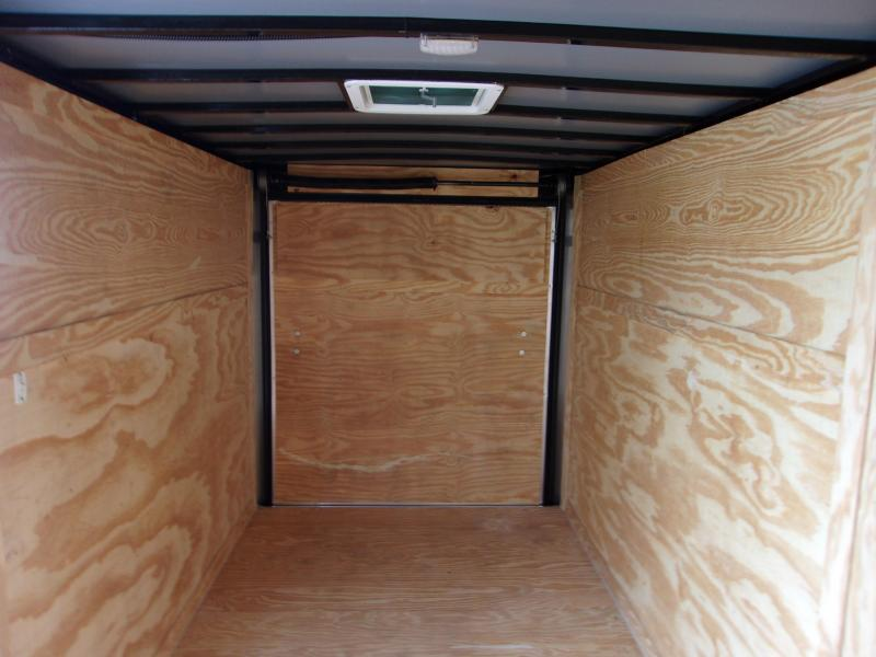 2021 6x12 ADMIRAL SERIES Cargo Trailer (Blacked Out Edition)