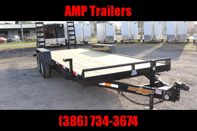 2020 Down 2 Earth Trailers 82x18 EQ Equipment Trailer