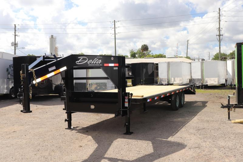 "2021 25'x102"" 10 ton Gooseneck Equipment Trailer"