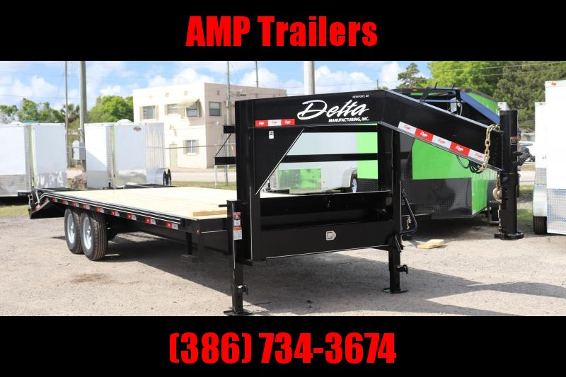 "2020 25'x102"" 10 ton Gooseneck Equipment Trailer"