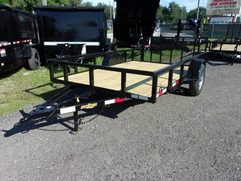 "2020 Down to Earth 76""x12' Utility Trailer *DT"