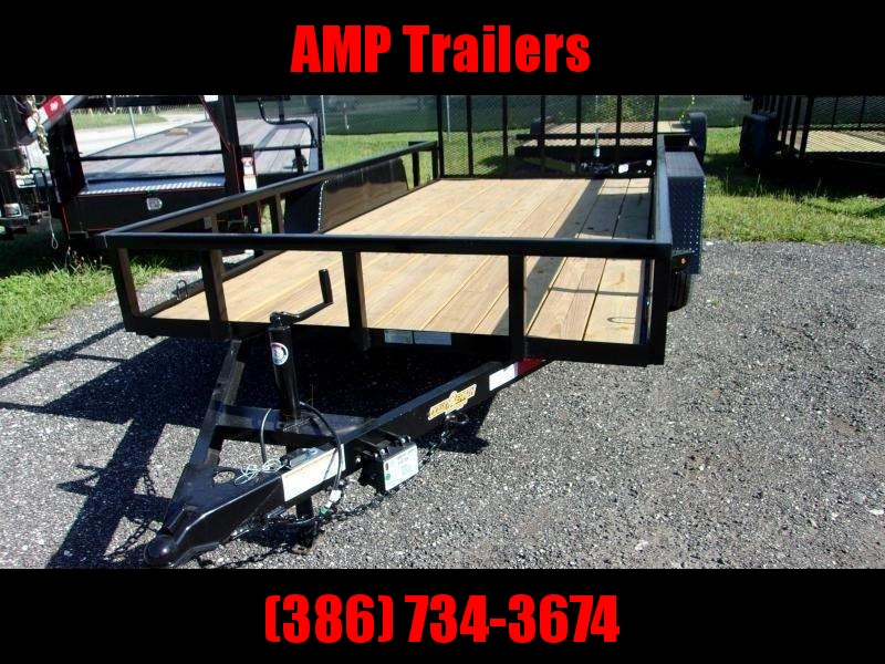 "2020 Down 2 Earth Trailers 76""x14' Utility Trailer *DOVE TAIL"
