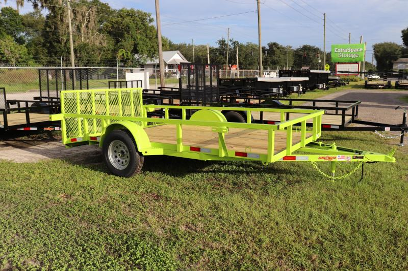 "2020 Down to Earth 76""x12' Utility Trailer *DT-LIME"