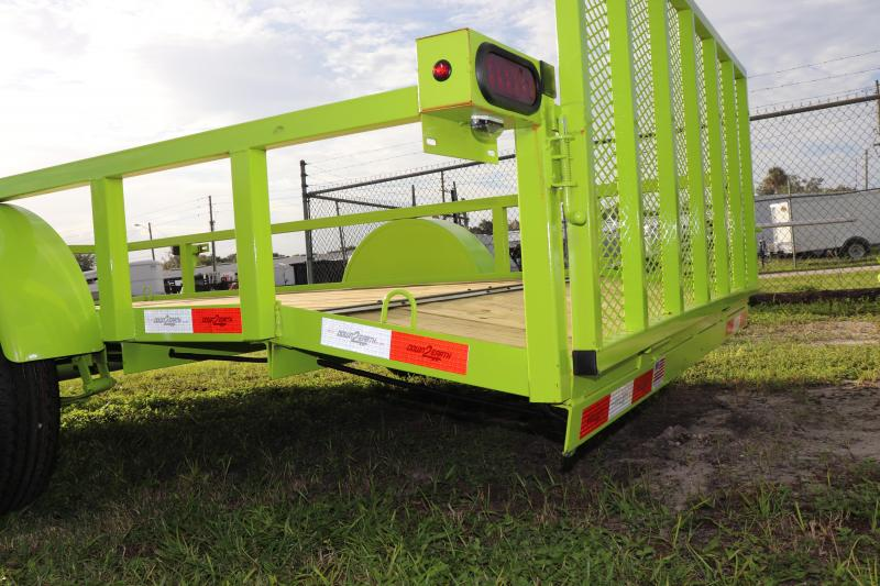 "2021 Down to Earth 76""x12' Utility Trailer *DT-LIME"