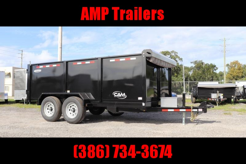 "2021 Cam Superline-ADVANTAGE 7X14 7 TON DUMP *44"" SIDES"