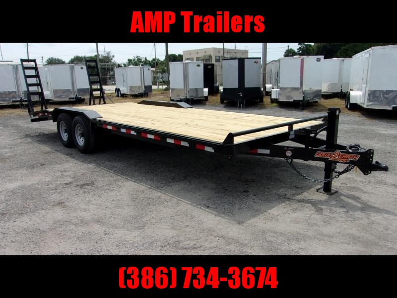 "2021 D2E 24'x102"" DRIVE OVER Equipment Trailer"