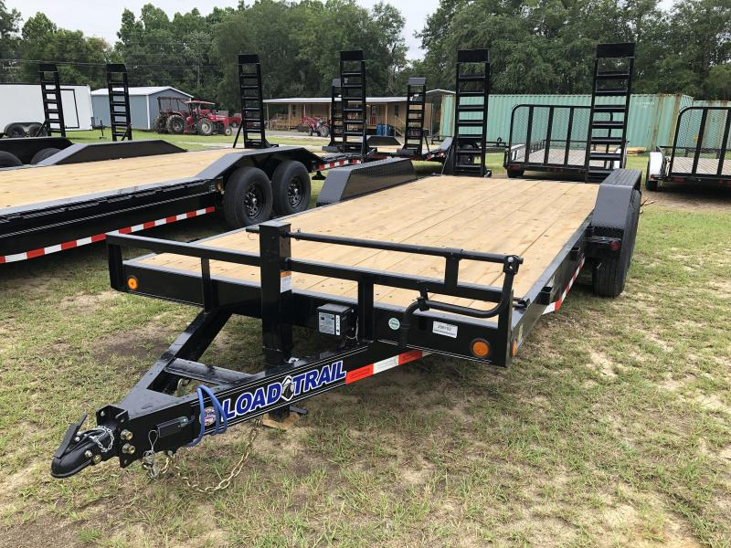 2020 Load Trail 83X18CH STANDUP RAMPS Equipment Trailer