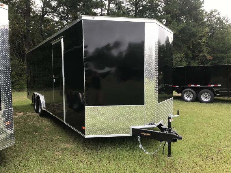 2021 Covered Wagon Trailers 8.5x24TA Goldmine Enclosed Cargo Trailer