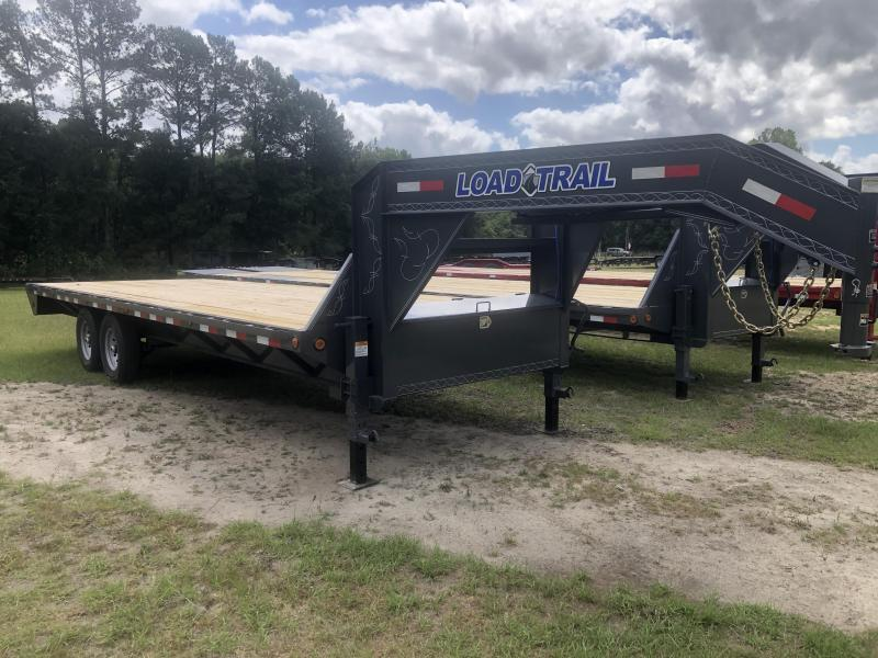 "2021 Load Trail 102"" x 24' Tandem Axle GOOSENECK Equipment Trailer"