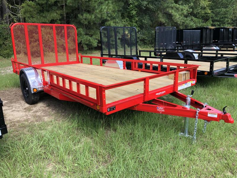 "2021 PJ Trailers 83"" X 14' SA - ATV Ramps Utility Trailer"