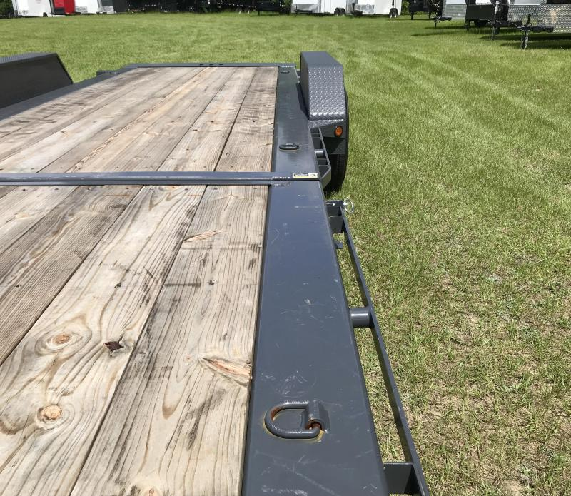 (USED) 2021 Load Trail 83X22TA TILT DECK Equipment Trailer