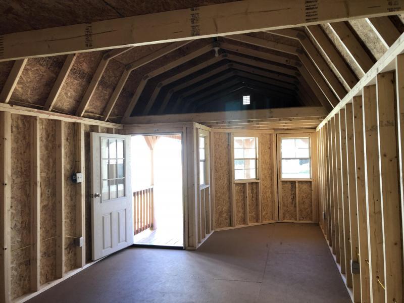 2020 Stor-Mor 12x32 Deluxe Lofted Barn Cabin w/ ELECTRICITY Cabin
