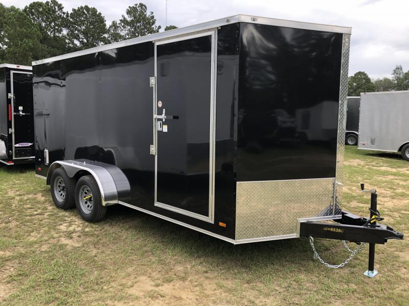 2021 Covered Wagon Trailers 7X16TA Enclosed Cargo Trailer