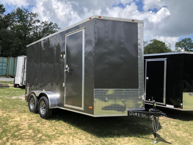 2021 7x14TA Freedom Trailers Enclosed Cargo Trailer