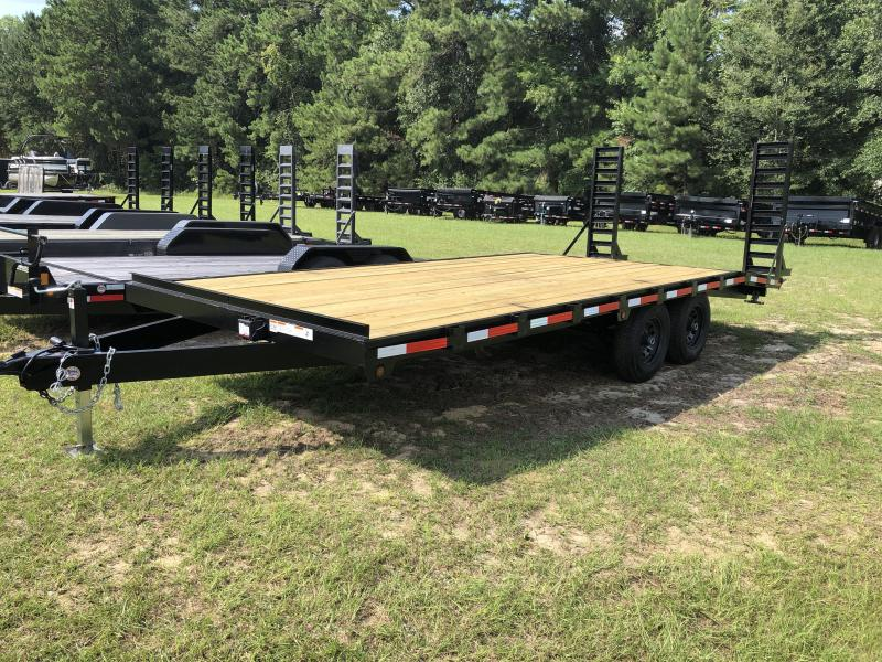 2020 MidSouth 96x20 Deck Over Flatbed Trailer