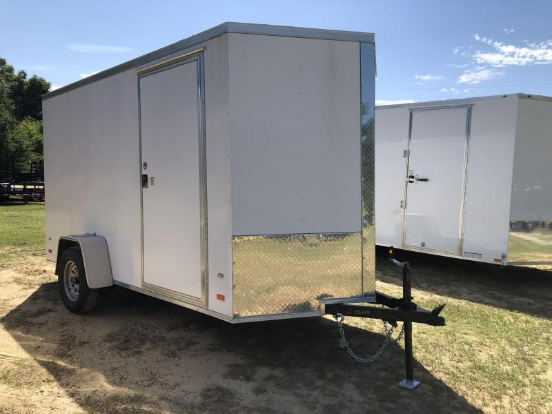 2020 Covered Wagon Trailers 6x12SA POWDER COATED Enclosed Cargo Trailer