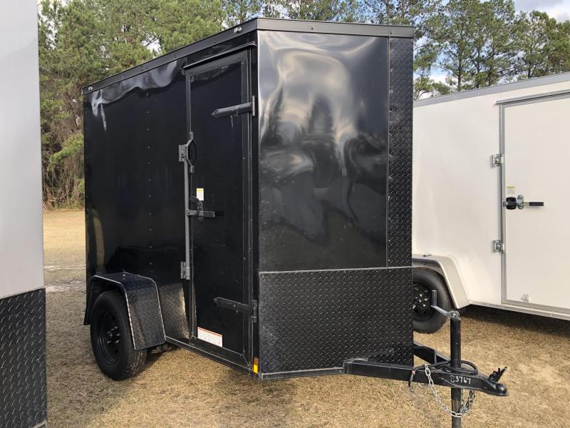 2021 Diamond Cargo 5x8SA EXTRA HEIGHT Enclosed Cargo Trailer